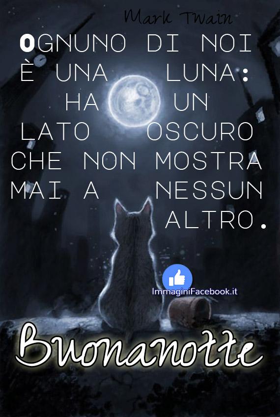 Bellissime immagini Buonanotte con la Luna