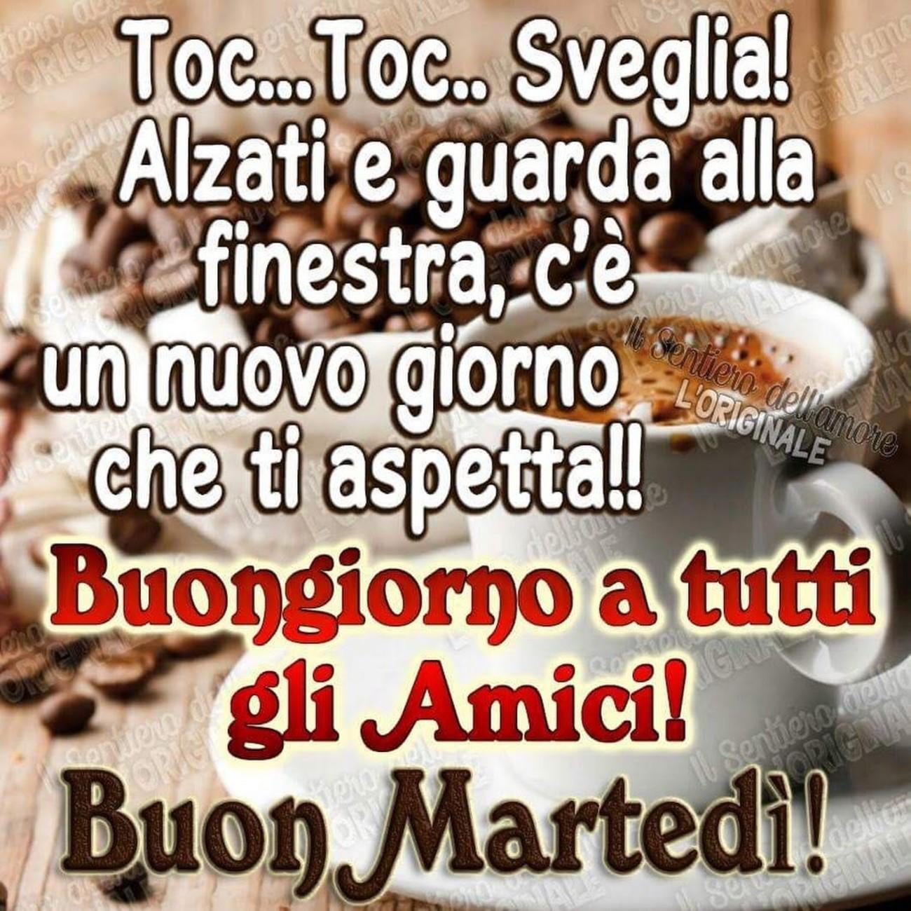 Buon Martedì A Tutti Gli Amici 3613 Immaginifacebook It