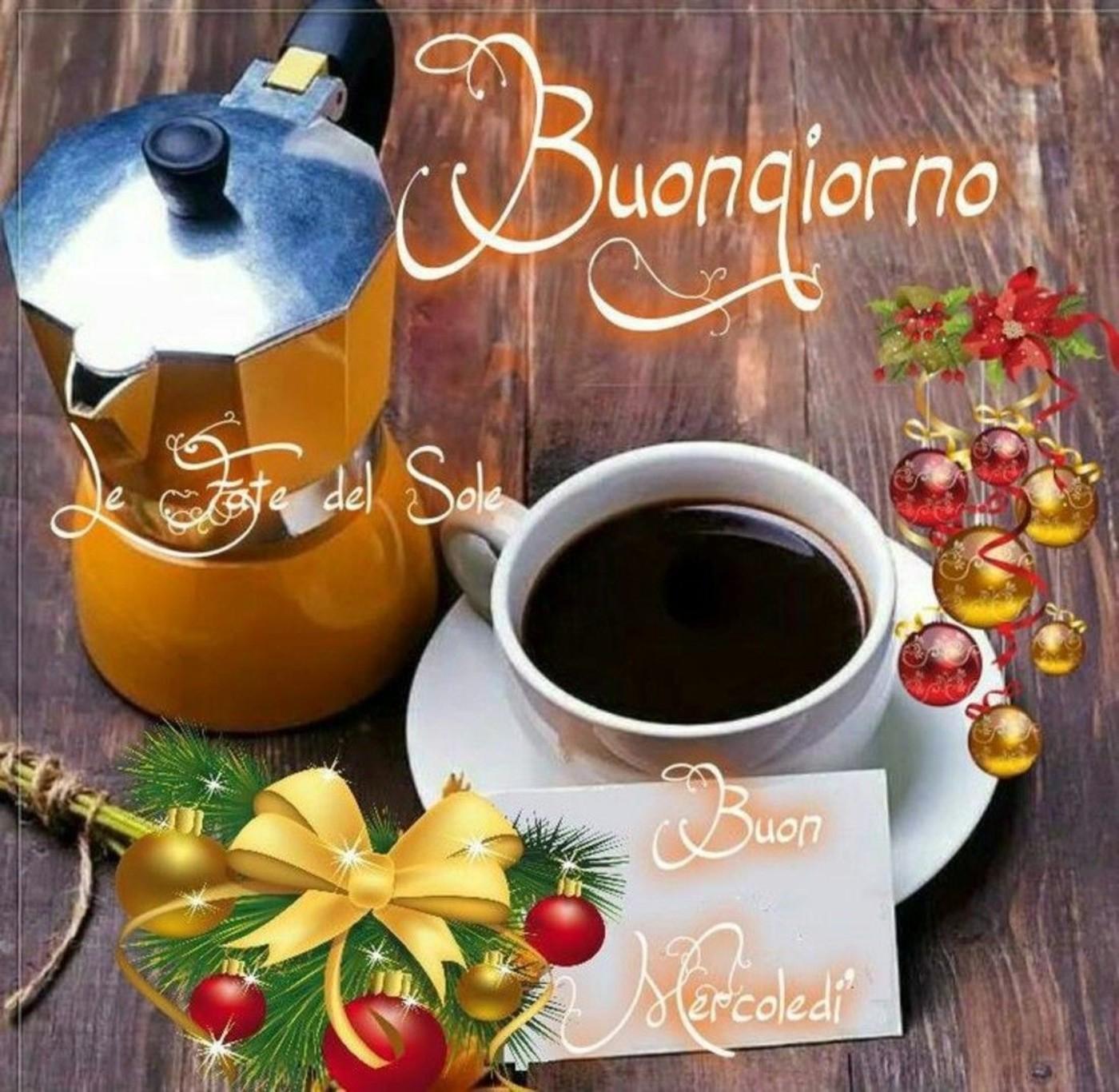 Buon Mercoledì Buongiorno Caffè Immaginifacebookit