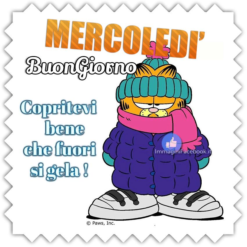 Buon Mercoledì freddo immagini bellissime