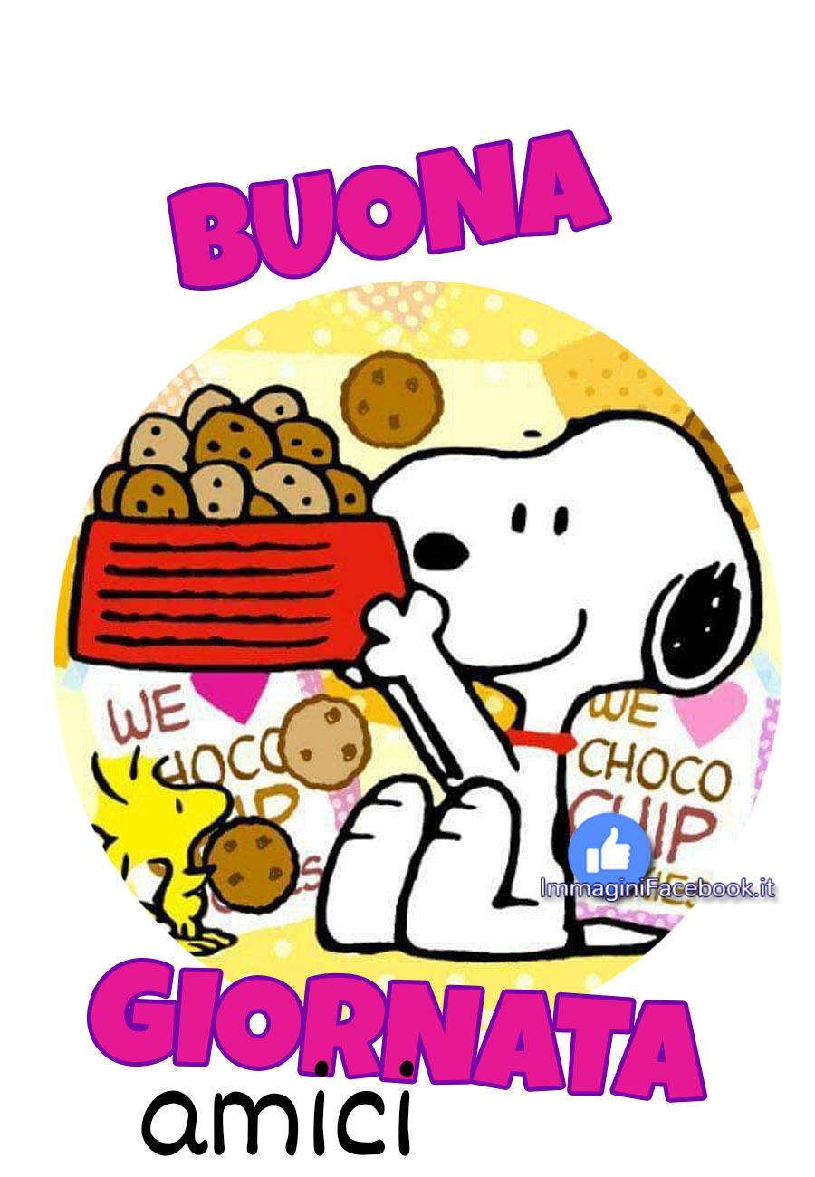Buona Giornata Snoopy immagini nuove