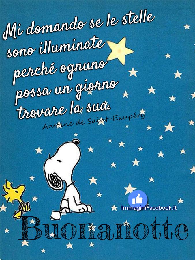 Buonanotte Snoopy immagini nuove
