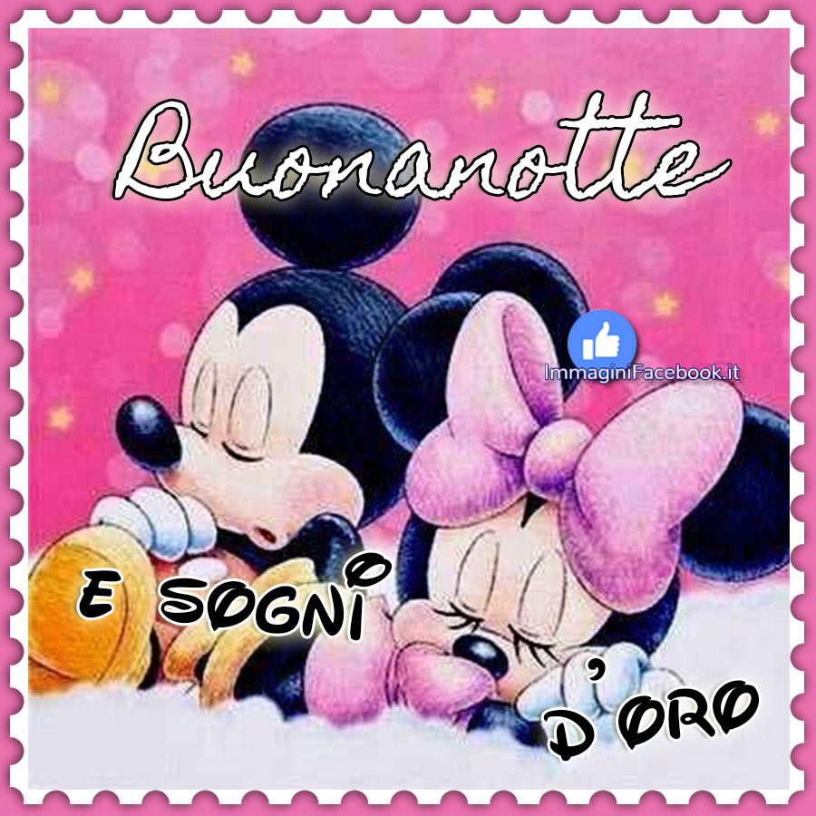 Buonanotte e sogni d'oro Disney
