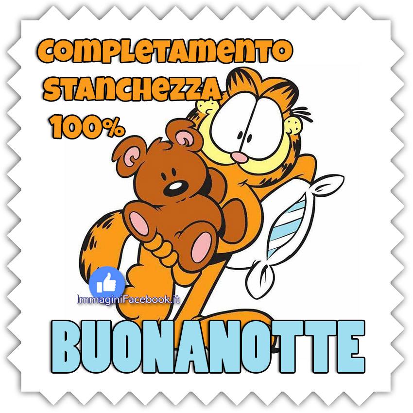 Buonanotte immagini Garfield