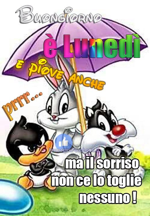Buongiorno Buon Lunedì Piovoso Immaginifacebook It