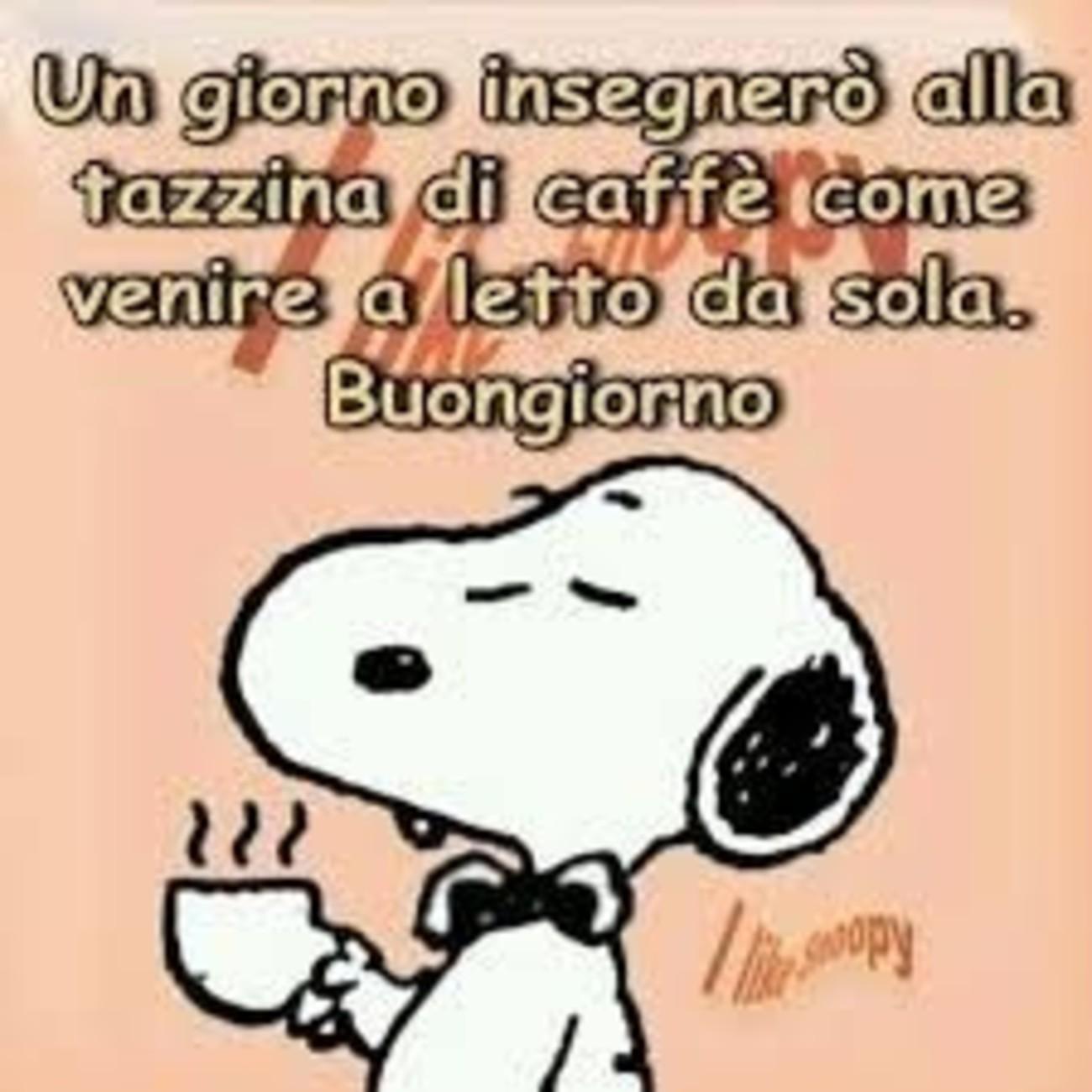 Buongiorno snoopy facebook for Vignette buongiorno divertenti