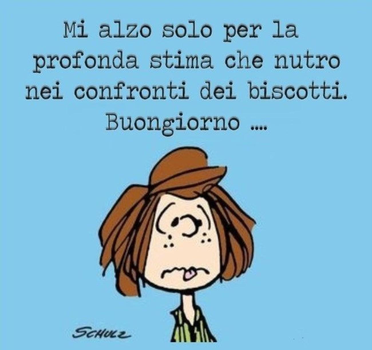 Buongiorno Divertente Snoopy Immaginifacebook It