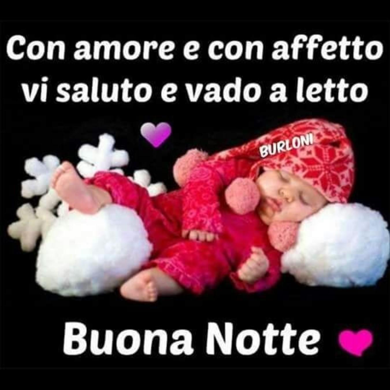 Con amore e con affetto Buonanotte