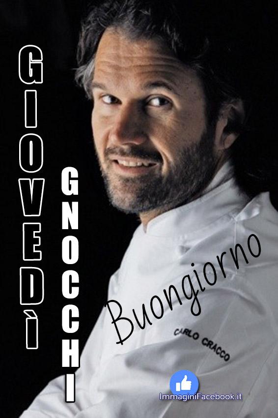 Giovedì Gnocchi immagini Facebook Carlo Cracco