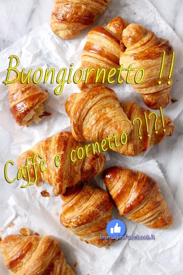 Immagini Buongiorno caffè e cornetto
