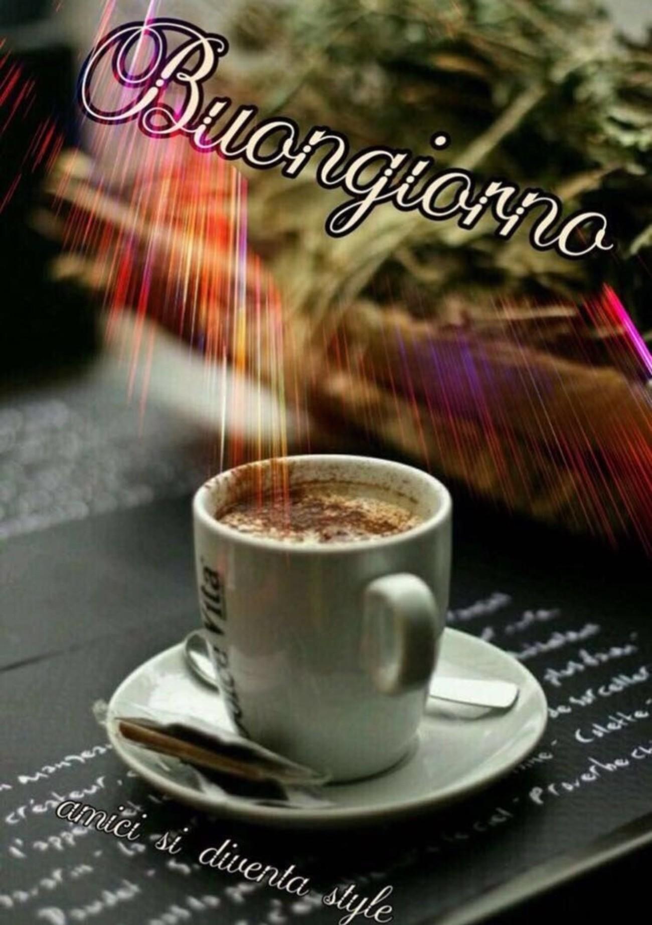 Immagini Buongiorno con caffè 4