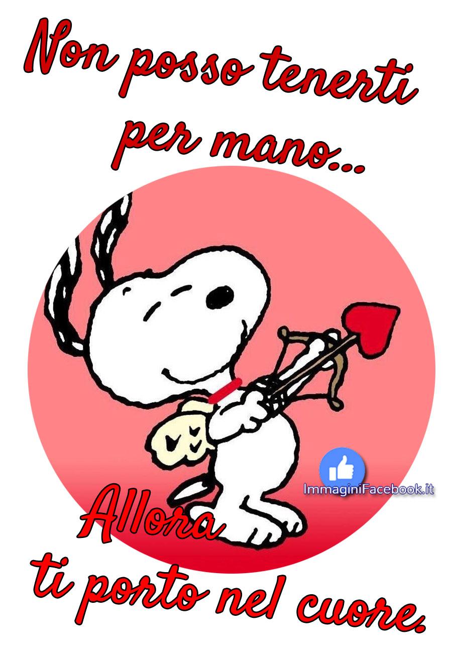 Immagini con Snoopy e l'amore