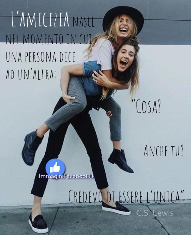 Immagini con citazioni sull'amicizia