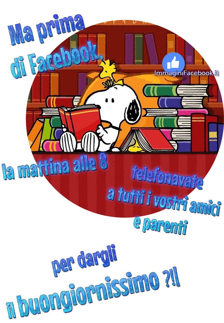 Vignette Con Snoopy Immaginifacebook It