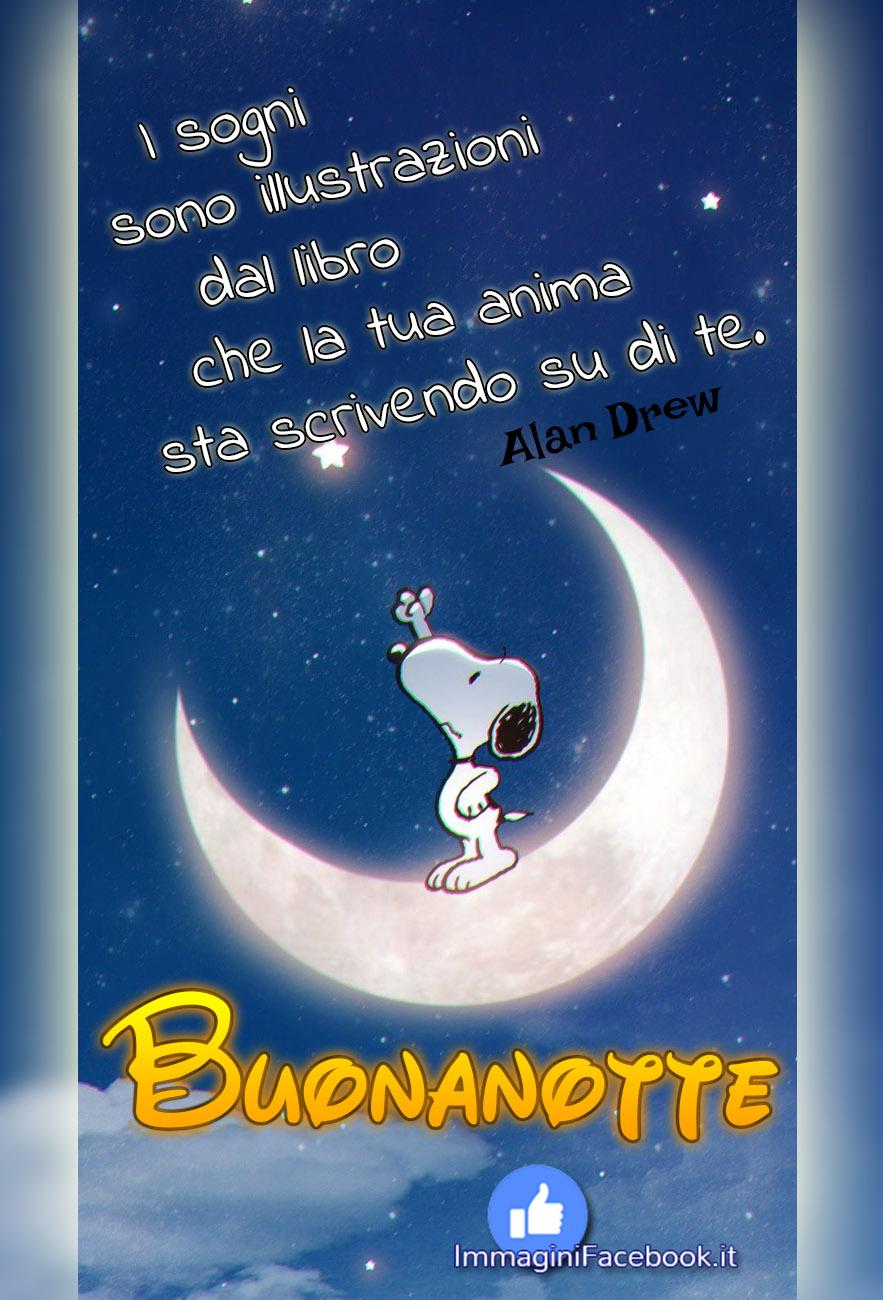 Immagini Nuove Buonanotte Snoopy Immaginifacebook It