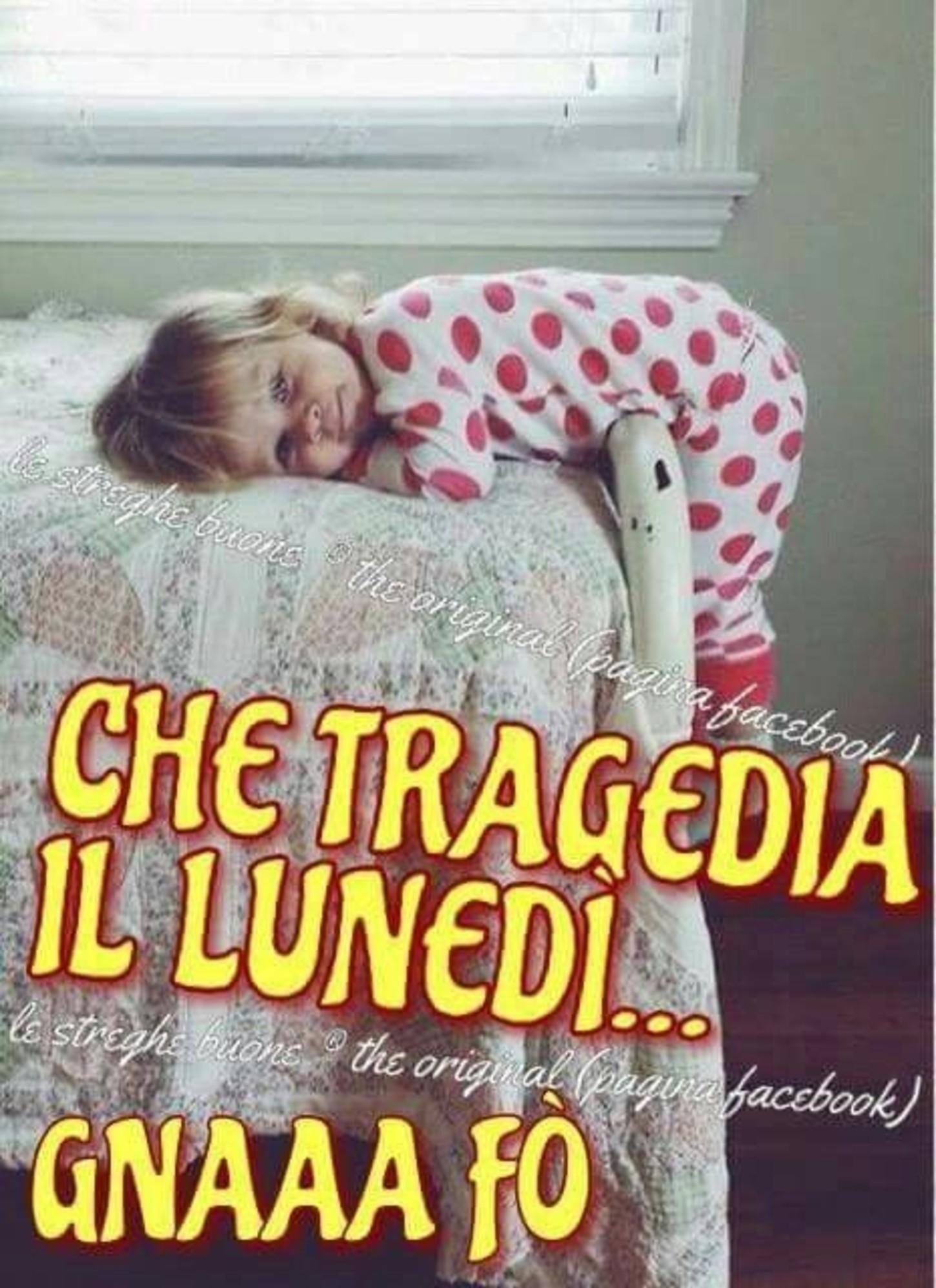 Lunedì che tragedia immagini