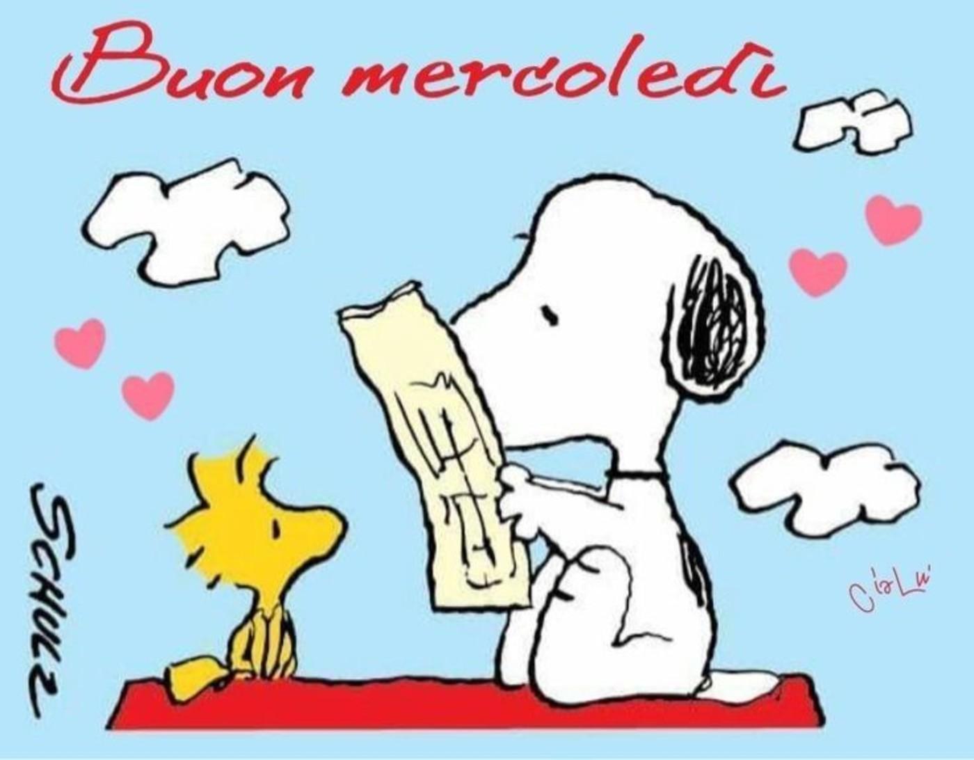 Snoopy Buon Mercoledì