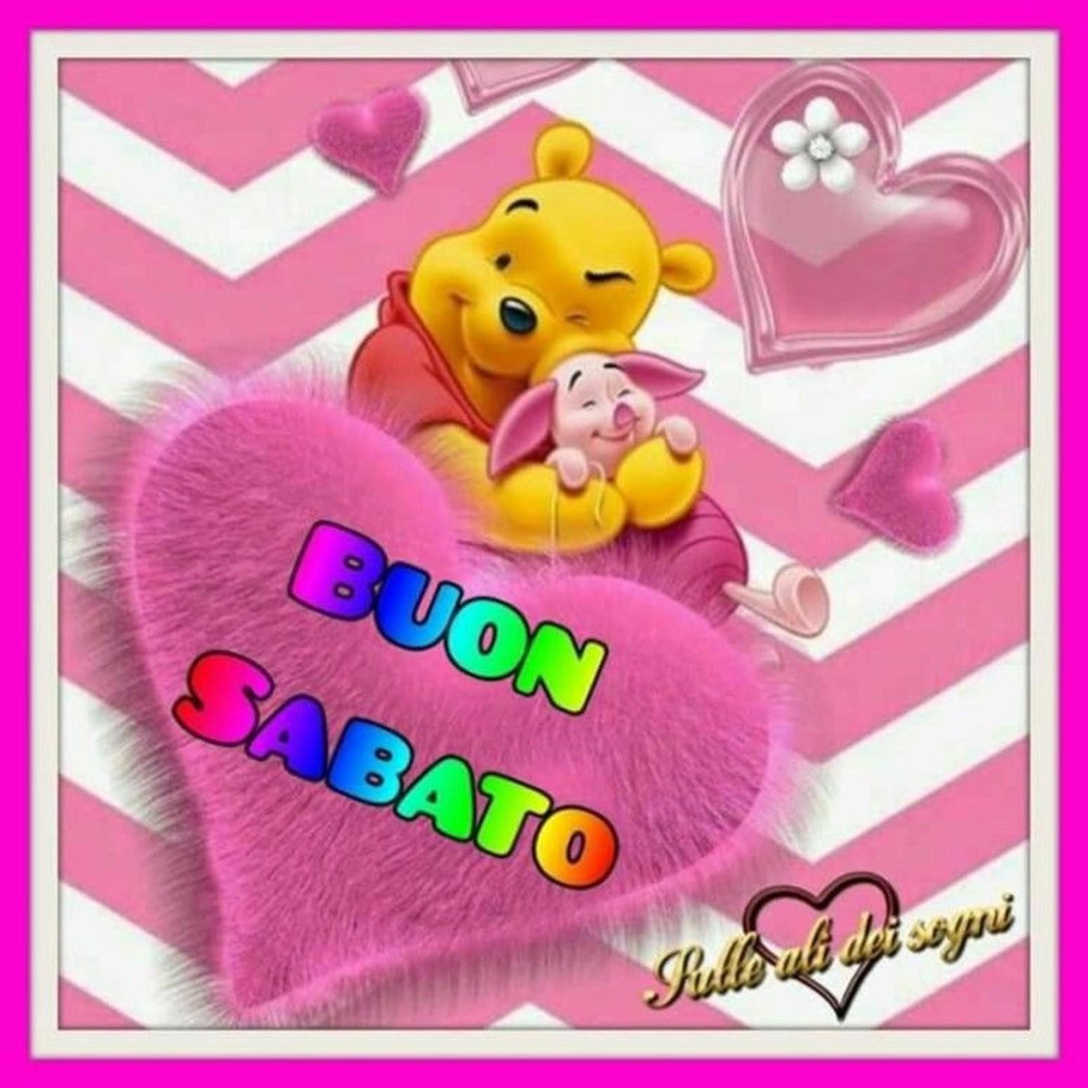 Winnie The Pooh Buon Sabato
