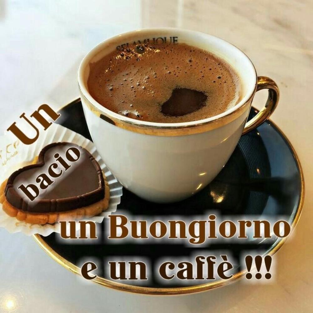 Un Bacio Un Buongiorno E Un Caffè Immaginifacebook It