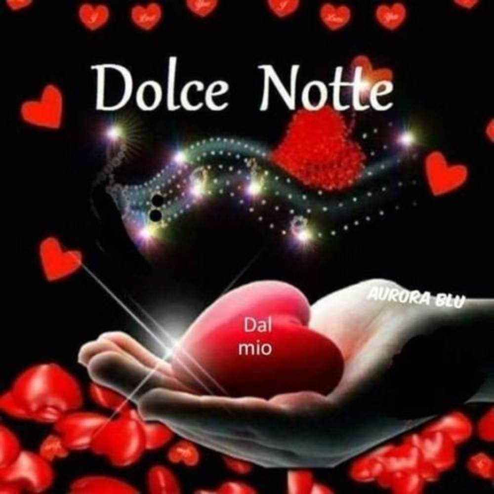 Buonanotte Amore Mio Foto Immaginifacebook It
